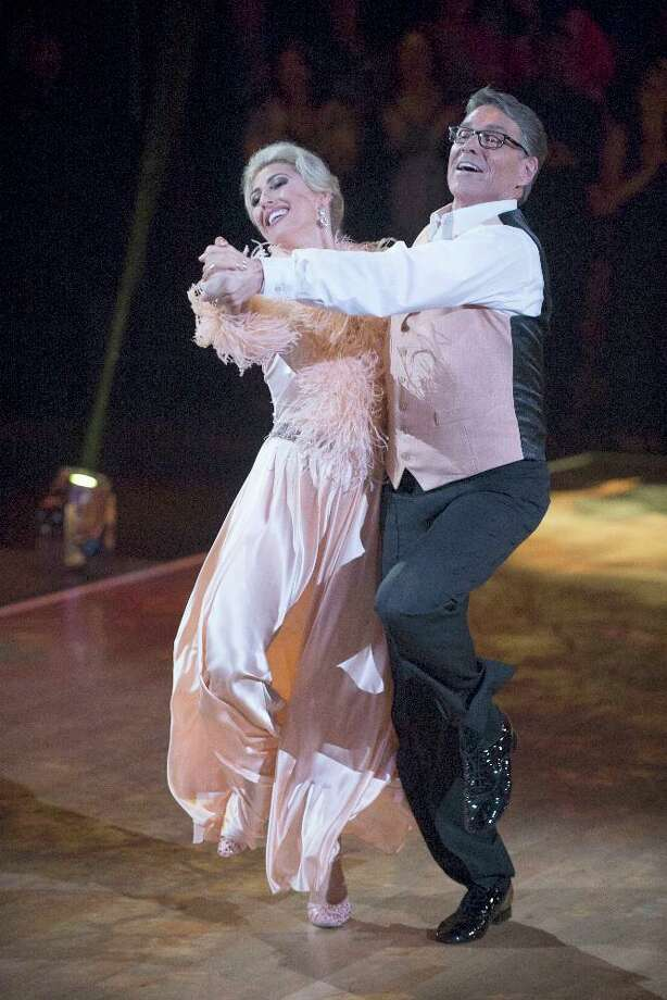 """Rick Perry and Emma Slater take a twirl on """"Dancing with the Stars."""" A reader thinks this was more honest work than joining the Trump administration. Photo: ABC /ABC / © 2016 American Broadcasting Companies, Inc. All rights reserved."""
