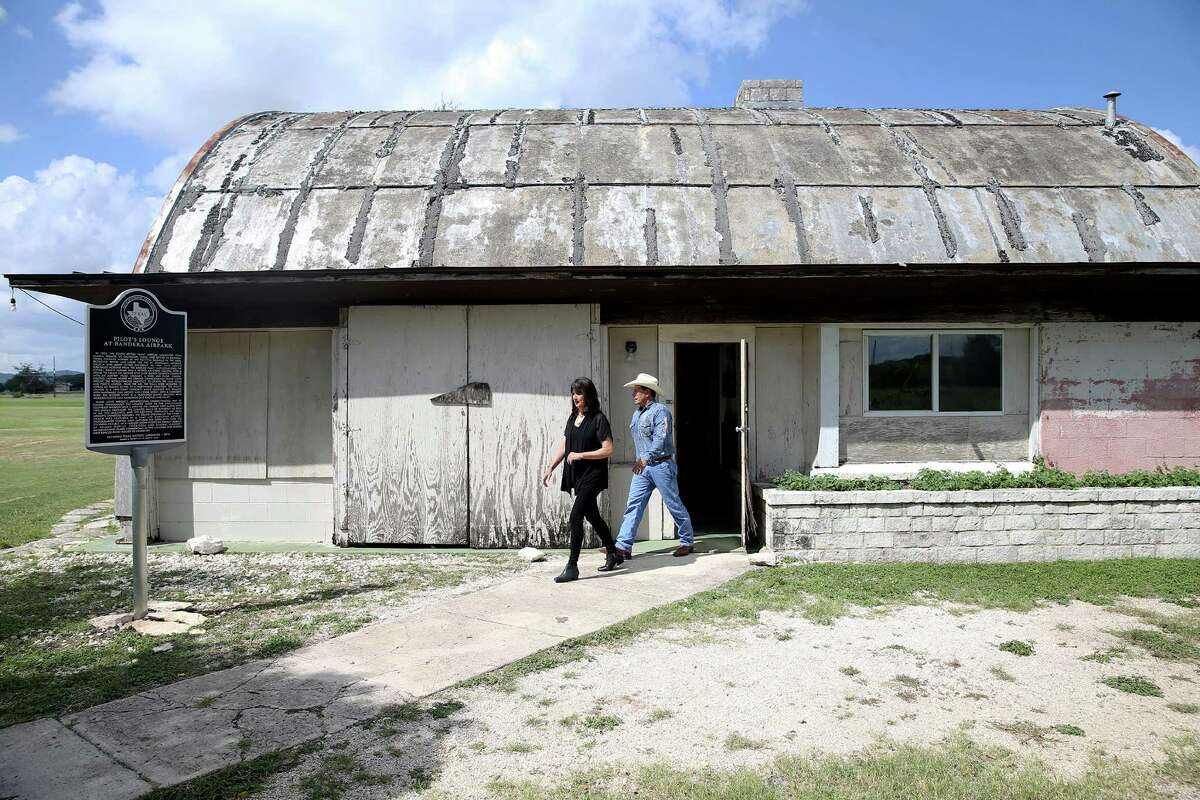Susan and Jody Jenkins, owners of the Flying L Guest Ranch in Bandera, want to create a museum dedicated to the work of famed architect Frank Lloyd Wright. He designed the pilot's lounge, shown here, in the 1940s.