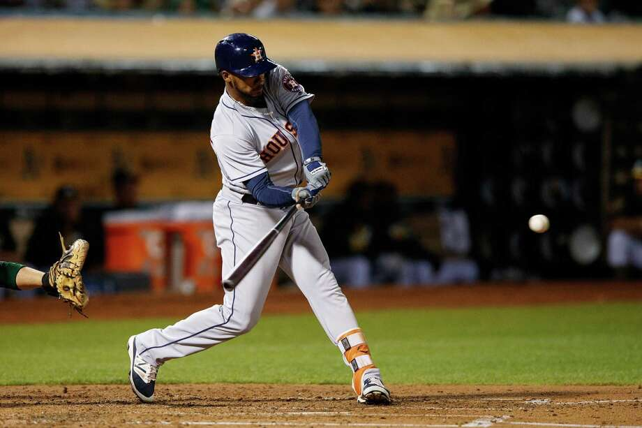 The Astros activated outfielder Teoscar Hernandez from the 10-day disabled list Sunday and optioned him to Class AAA Fresno. Photo: Jason O. Watson, Getty Images / 2016 Getty Images