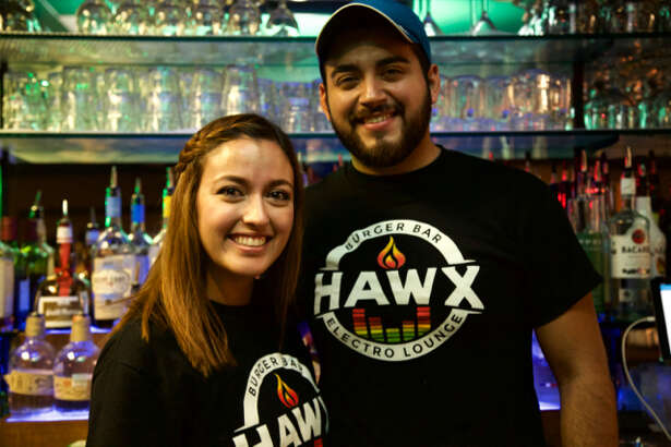 Alex Ramirez and Christian Hawx are at Hawx Burger Bar.