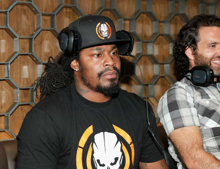 Former Seahawks running back Marshawn Lynch attends The Ultimate Fan Experience, Call Of Duty XP 2016 presented by Activision at The Forum on September 2, 2016 in Inglewood, California.