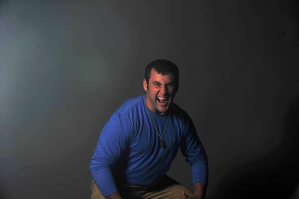 Varsity football player Austin Reeves of Kirbyville. Photo taken Monday, September 19, 2016 David Thompson/The Enterprise