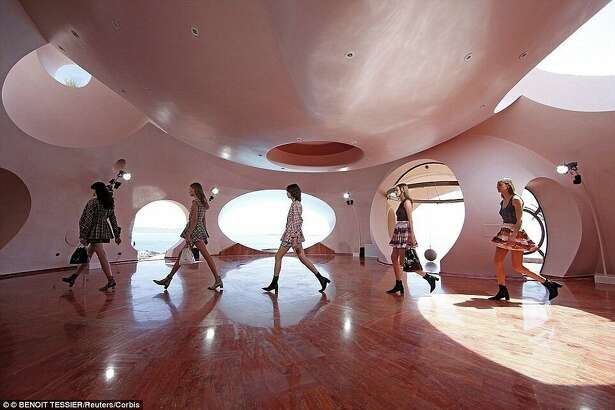 Pierre Cardin's unique home is currently the priciest house in Europe.