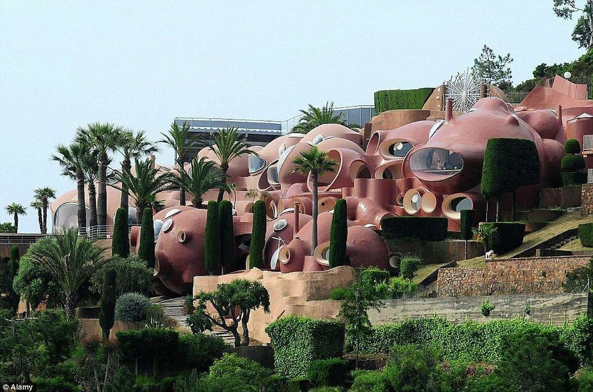 The Bubble Palace In Cannes France Is Listed At 456 Million