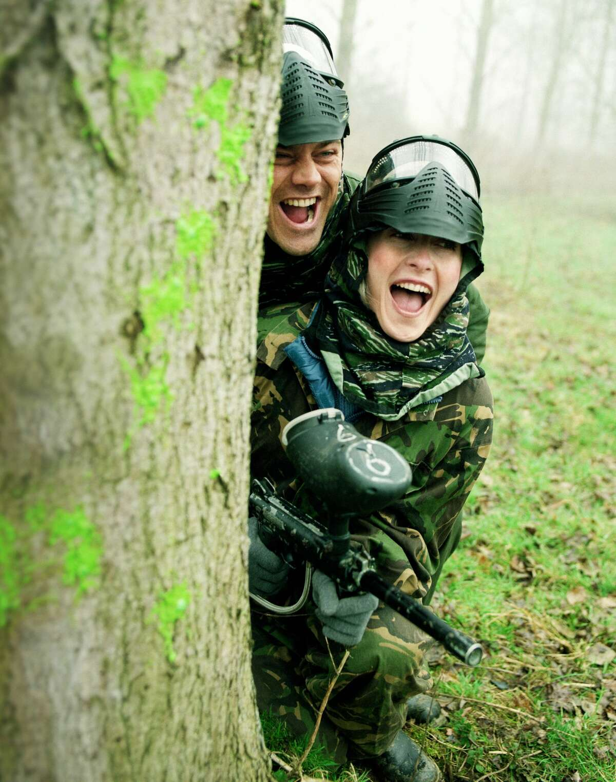 Paintball: If you want an exhilarating experience and like being shot at (without any immediate danger) paintball is a fun option.
