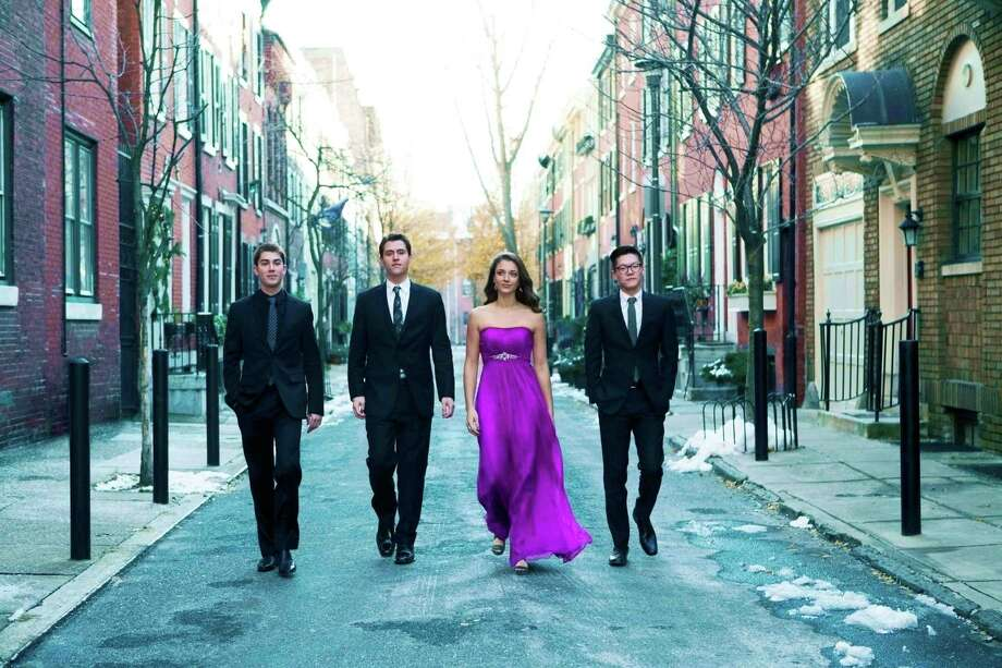The Dover Quartet opens the Candlelight series' 69th season at 4 p.m., Sunday, Sept. 25, at the Wilton Congregational Church. Photo: Contributed Photo