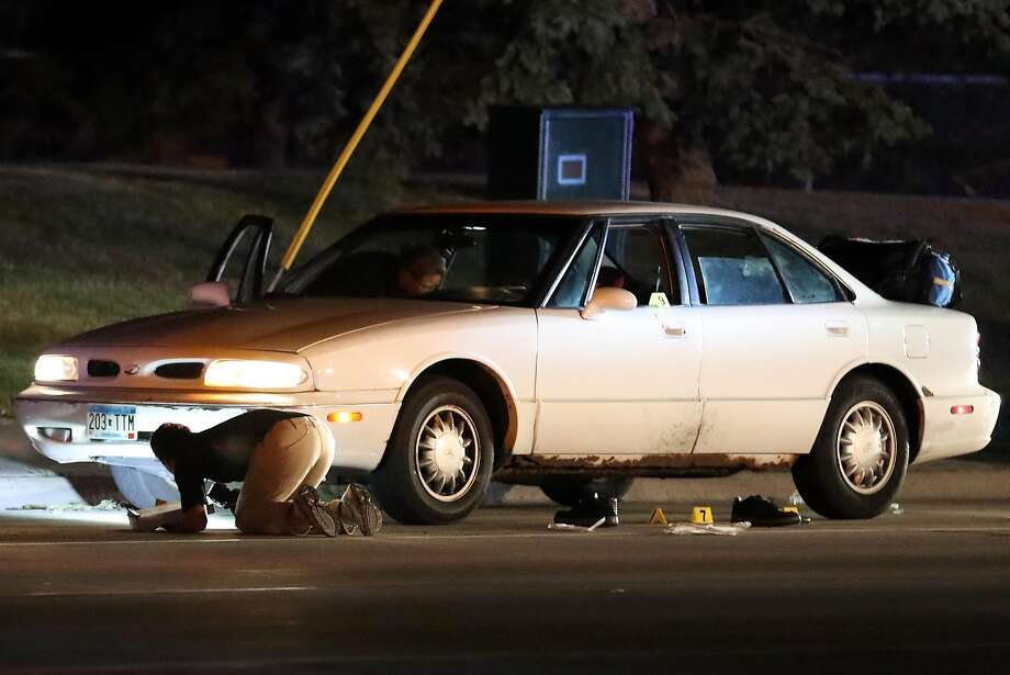 Philando Castile was shot in this vehicle in July in an incident recorded by his girlfriend in Falcon Heights, Minn. Photo: Leila Navidi, Associated Press