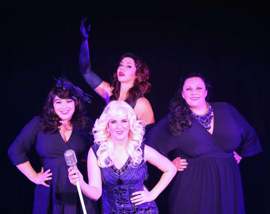"Katie Molina, Cassie Moczygemba, Sarah Brown and Melissa Dean star in ""Lady Sings the Blues"" at The Harlequin. Photo: Courtesy Nikki Folsom"
