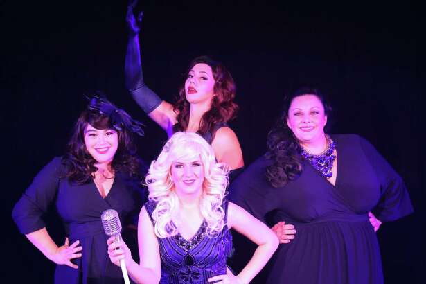 """Katie Molina, Cassie Moczygemba, Sarah Brown and Melissa Dean star in """"Lady Sings the Blues"""" at The Harlequin."""