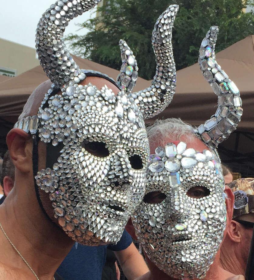 Folsom Street Fair or Oakland Raiders game? Photo: Carolyne Zinko/San Francisco Chronicle