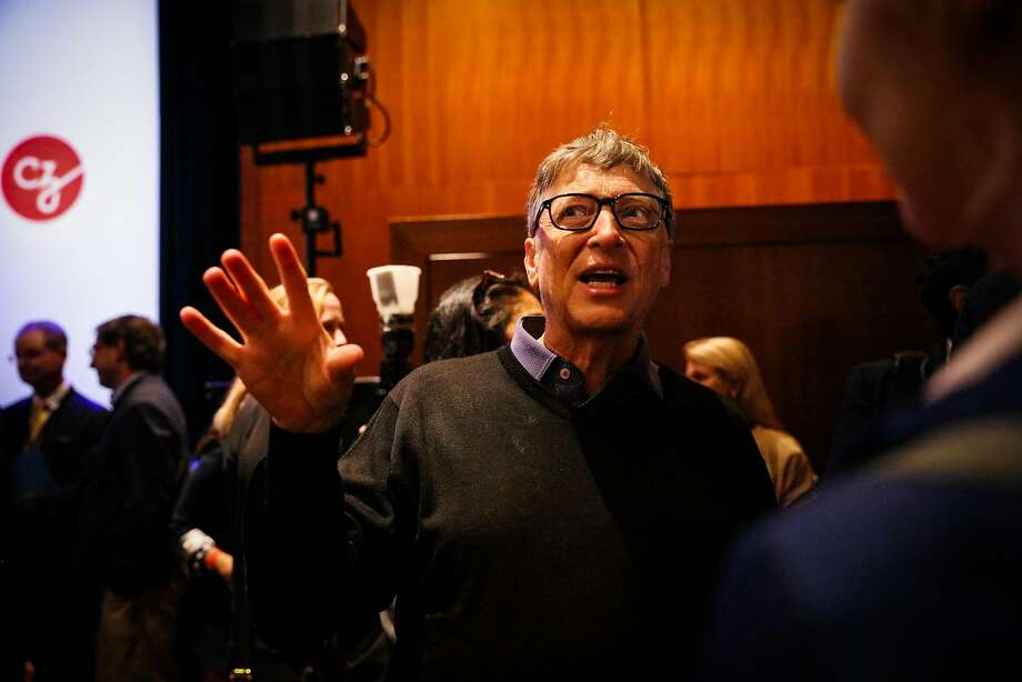 Billionaire Bill Gates was prominent in a popular SFGate.com story. Photo: Gabrielle Lurie, The Chronicle