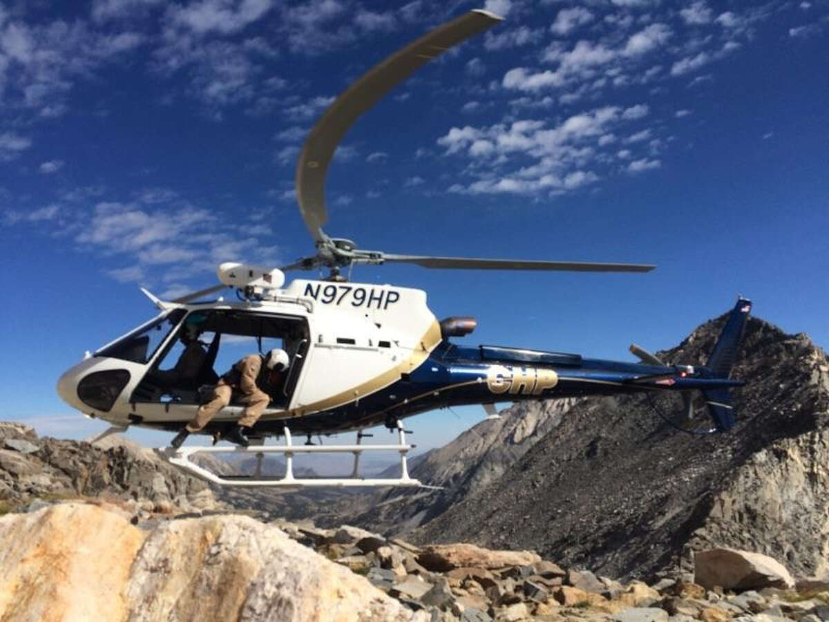 Rescuers used a helicopter to located the victim's body off of Bear Creek Spire.