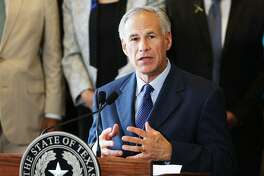 DALLAS, TX - JULY 08: Texas Governor Greg Abbott speaks at Dallas's City Hall near the area that is still an active crime scene in downtown Dallas following the deaths of five police officers last night on July 8, 2016 in Dallas, Texas. Five police officers were killed and seven others were injured in the evening ambush during a march against recent police involved shootings. Investigators are saying the suspect is 25-year-old Micah Xavier Johnson of Mesquite, Texas. This is the deadliest incident for U.S. law enforcement since September 11. (Photo by Spencer Platt/Getty Images)