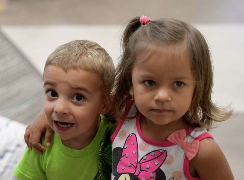 Day care children really enjoyed them selves in the new setting at the grand opening of the Capital Milestones Child Care center at the Harriman Campus Wednesday Sept. 21 2016 in Albany, N.Y. (Skip Dickstein/Times Union)