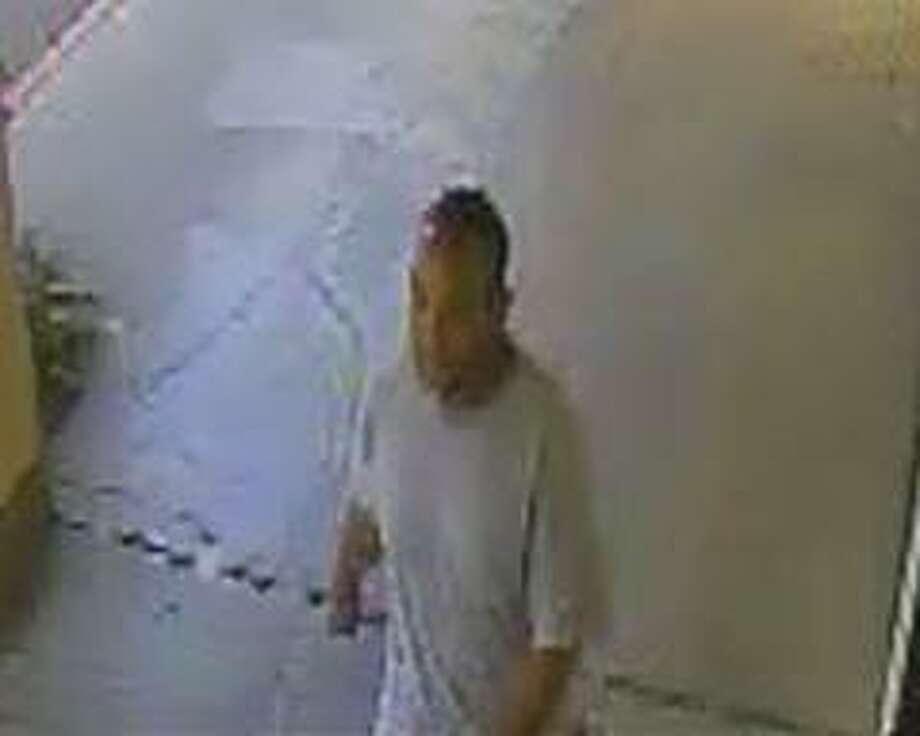 Police released this image of a person of interest in relation to a Tuesday homicide. Photo: Fairfield Police Department / /