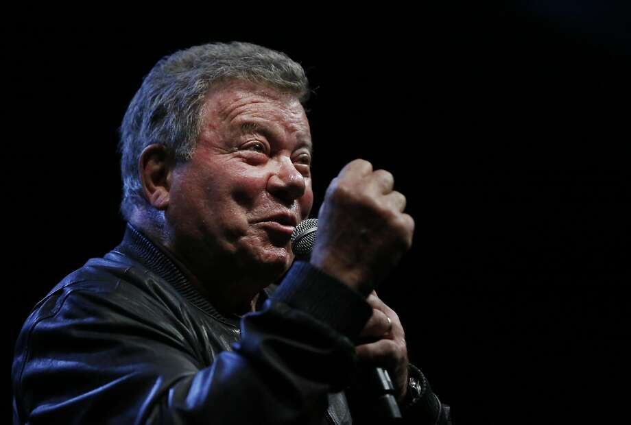 William Shatner answers questions at the 2016 Silicon Valley Comic Con. The actor will return this year. Photo: Leah Millis, The Chronicle