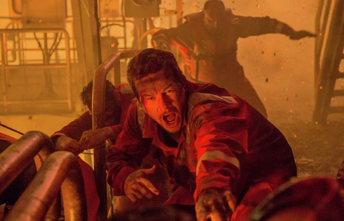 "Mark Wahlberg stars in the film ""Deepwater Horizon."""