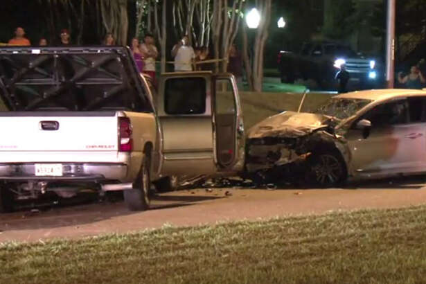 A man died Wednesday night after a head-on crash when he crossed into oncoming traffic in west Harris County.  The two-vehicle wreck happened about 7:30 p.m. in the 2000 block of South Mason Road in the Katy area, according to the Harris County Sheriff's Office.
