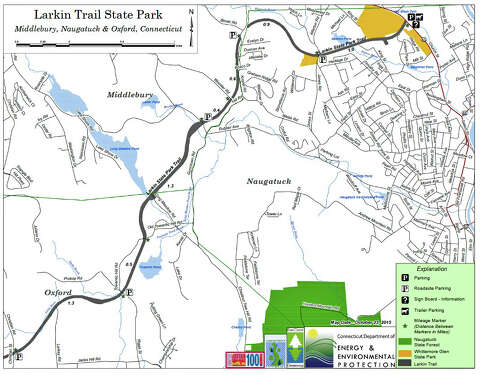 Online maps open up old Oxford rail trail - Connecticut Post