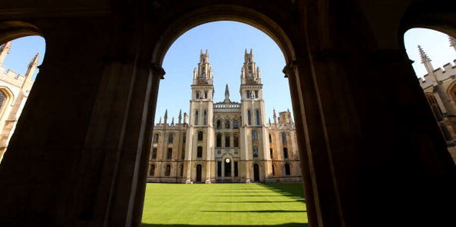 1. University of OxfordSource: The Times Higher Education 2016 World University Rankings Photo: Oli Scarff/Getty Images