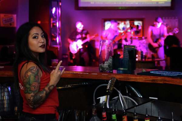 The Leaky Barrel was rocking out Wednesday, Sept. 21, 2016, to the sounds of Red Hot Chili Peppers and AC/DC tribute bands.