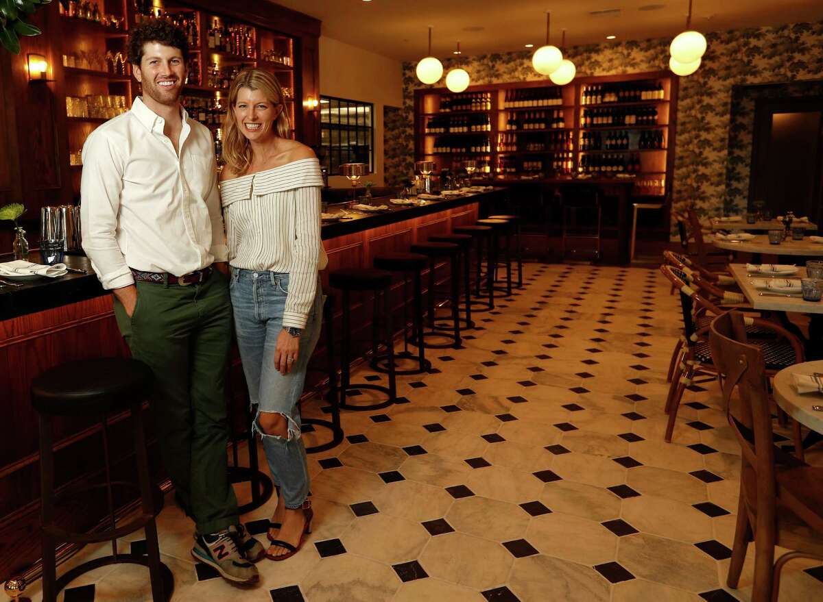 Siblings Nicholas Adair and Katie Adair Barnhart at their new Eloise Nichols Grill & Liquors restaurant, 2400 Mid Lane. The new restaurant, named for their paternal grandmother, is meant to be a hip neighborhood restaurant. The chef is Joseph Stayshich.