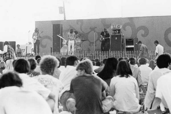 Daily News file photo Ten popular rock bands from throughout Michigan gathered in Midland on Aug. 22, 1969, at the Midland County Fairgrounds for the Mid-Michigan Pop Festival and Rock Concert. Event organizer was James F. Hopfensperger. The bands, Amboy Dukes (Ted Nugent, 'Journey to the Center of the Mind'), Red, White and Blues Band, Plain Brown Wrapper, Unrelated Segments, The Ones, Frijid Pink ('House of the Rising Sun'), Third Power, All the Lonely People, the Rationals and the Sand played from 3 p.m. that Friday until 2 a.m. Saturday. Hopfensperger polled the audience that day on what bands he should try to get for a September concert in Midland.  Consensus was Steppenwolf, The Vanilla Fudge, Iron Butterfly.