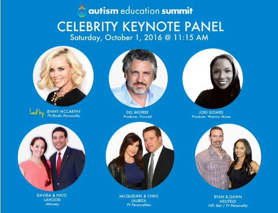 "Bexar County District Attorney Nico LaHood and his wife, Davida, are listed as ""celebrity keynote speakers"" at the Autism Education Summit, which kicks off Sept. 30, 2016 in Dallas. Photo: Autism Education Summit/screengrab"