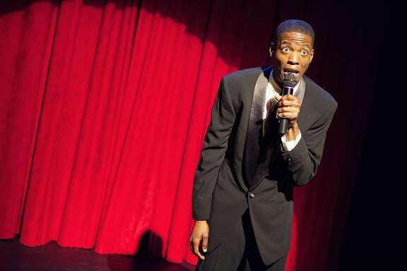"Howard Johnson Jr. portrays a comedian who �gets real� about race in one segment of Crowded Fire�s ""The Shipment."""