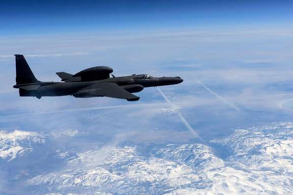 """In this March 23, 2016 US Air Force handout photo, a U-2 Dragon Lady flies above the Sierra Nevada Mountain Range, California. A US pilot was killed and another injured after they ejected from a U-2 spy plane on a training mission in rural California, the Air Force said September 20, 2016. The plane crashed around 9:00 am local time (1600 GMT) shortly after takeoff in an unpopulated area in Sutter, north of state capital Sacramento, the Air Force said. The service had initially said both pilots ejected safely, but later confirmed one was killed. The plane was assigned to the 1st Reconnaissance Squadron at Beale Air Force Base, the facility said on Facebook.  / AFP PHOTO / US AIR FORCE / Staff Sgt. Robert M. TRUJILLO / RESTRICTED TO EDITORIAL USE - MANDATORY CREDIT """"AFP PHOTO / US AIR FORCE / STAFF SGT. ROBERT M. TRUJILLO"""" - NO MARKETING - NO ADVERTISING CAMPAIGNS - DISTRIBUTED AS A SERVICE TO CLIENTS  STAFF SGT. ROBERT M. TRUJILLO/AFP/Getty Images"""