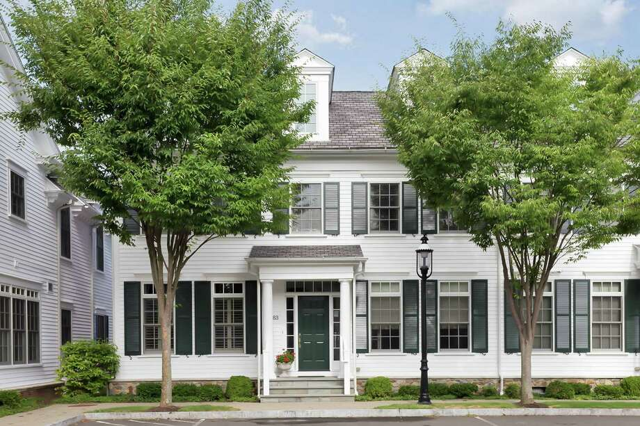 The 4,017-square-foot Colonial townhouse at 63 Southport Green sits in a cul-de-sac water community conveniently located near the train station and the Post Road. Photo: Contributed Photos / Fairfield Citizen