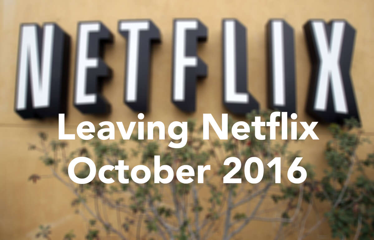 Here are some of the big-name movies and TV shows that are leaving Netflix in October 2016. Click here for the full list.