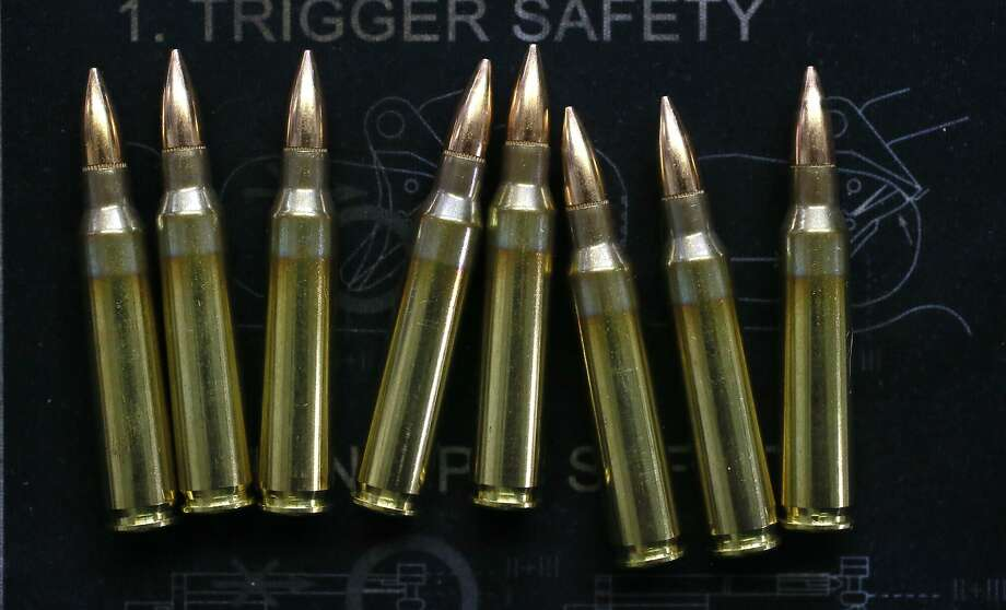 Prop. 63 would clamp down more on ammunition than on guns themselves. Photo: Michael Macor, The Chronicle