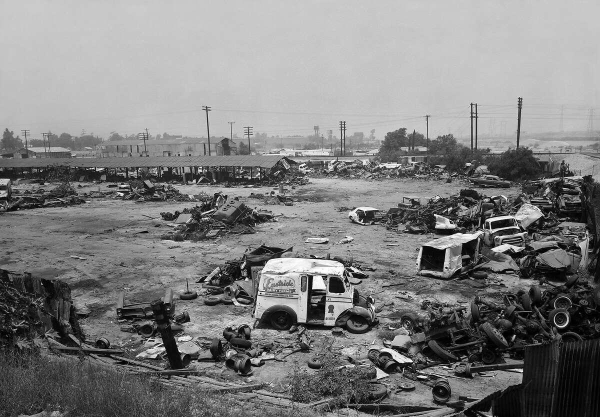 """Anthony Hernandez, """"Automotive Landscapes #35"""" (1978)"""