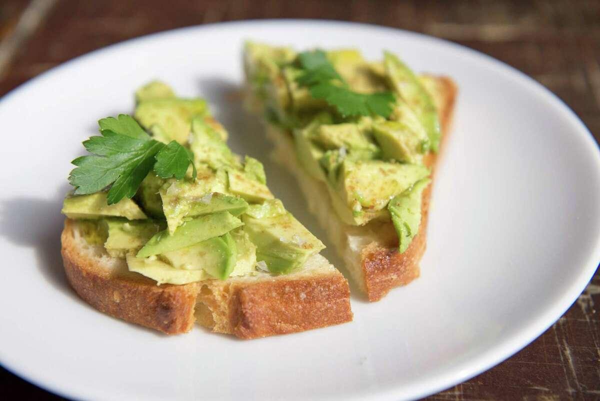 Rosella Coffee's avocado toast