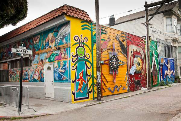 Murals in San Francisco's Mission District