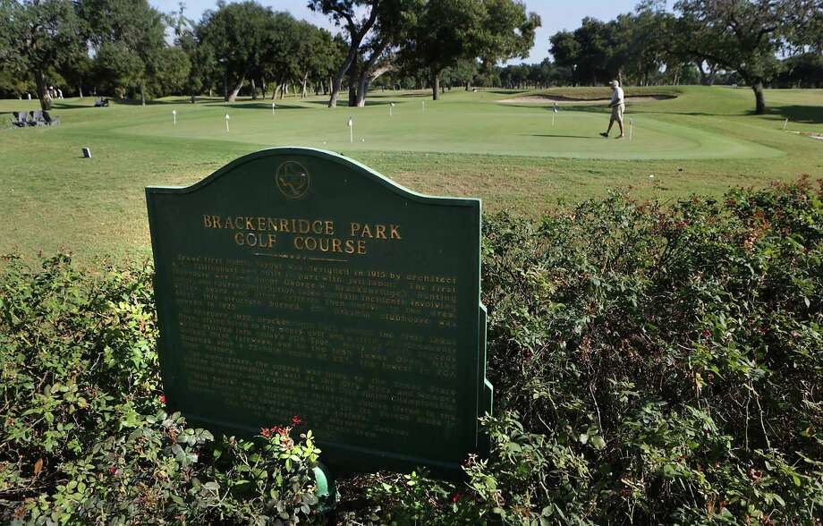 Brackenridge Park Golf Course, the oldest public course in Texas, shown on Sept. 29, 2015. The original course was designed by notable golf architect A.W. Tillinghast, an inductee into the World Golf Hall of Fame. Photo: Bob Owen /San Antonio Express-News / San Antonio Express-News