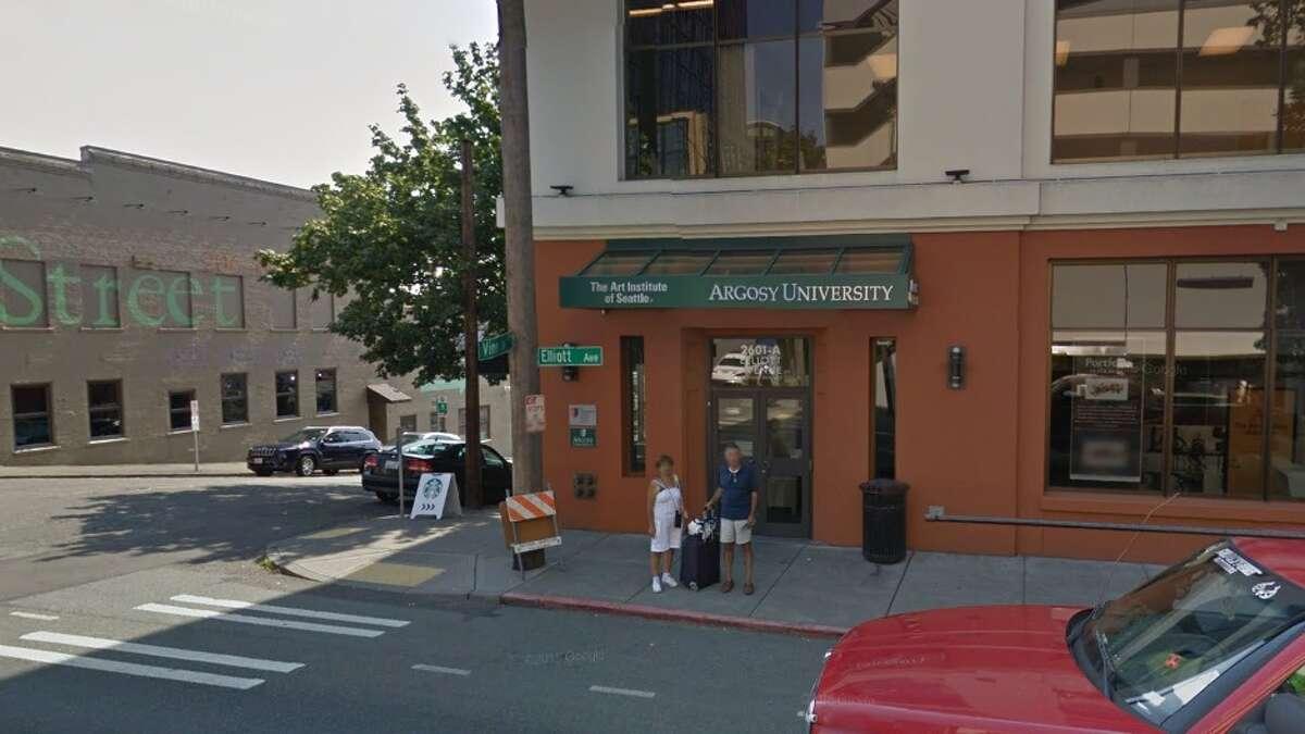28. Argosy University, Seattle Median loan debt for graduating students: $14,323Median loan debt for students who withdrew: $7,708