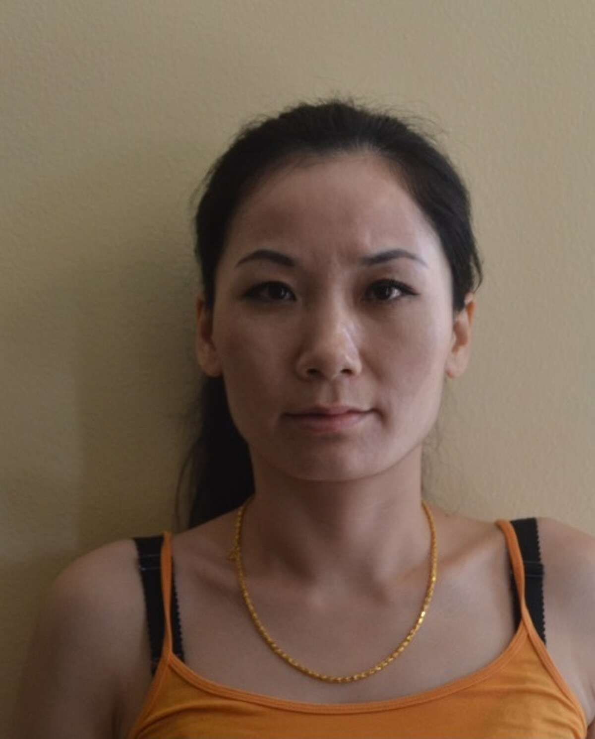 Jinling Wang, 34, was arrested by the Harris County Precinct 4 Constable's Office on Tuesday and was charged with prostitution.