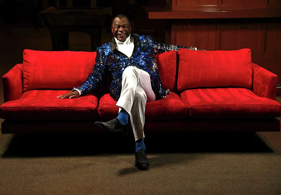 Former Houston Rockets player and NBA Hall of Famer Calvin Murphy poses for a portrait at the Toyota Center Sept. 19, 2016, in Houston. Photo: James Nielsen, Staff / © 2016  Houston Chronicle