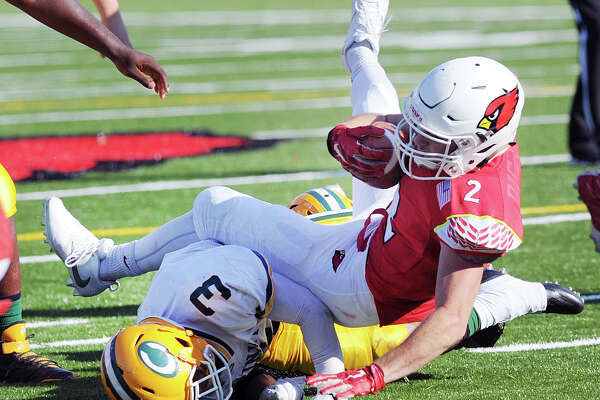 Greenwich running back Kevin Iobbi will be a key piece in the Cardinals' offense against Darien.