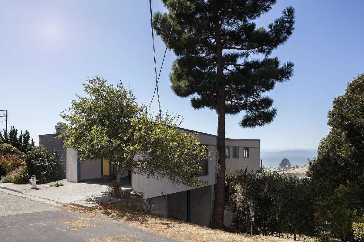 710 Hillside Ave. in Albany is a five-plus bedroom contemporary with bay views that's available for $1.195 million.