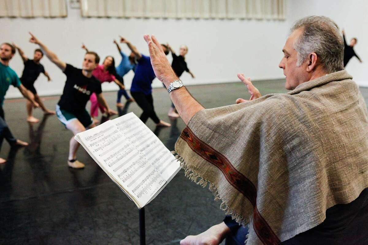 The Mark Morris Dance Group performs the world premiere of the ancient Persian love story Layla and Majnun with the Silk Road Ensemble at Cal Performances Sept 30-Oct 2. Credit: Amber Star