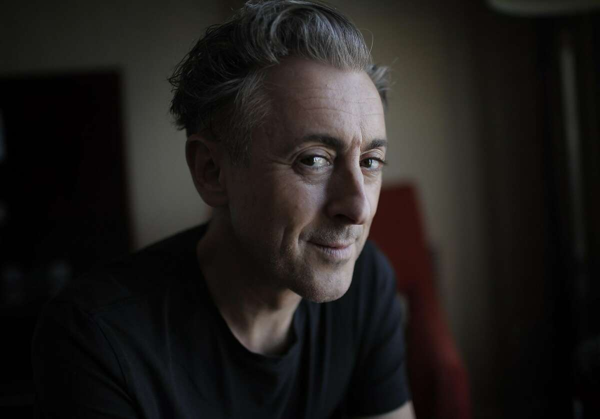 """Actor, singer and author Alan Cumming in San Francisco, Calif., on Thursday, September 22, 2016. Cumming's third book, """"You've Gotta Get Bigger Dreams,"""" was just published."""