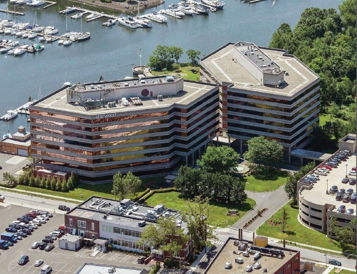 The headquarters of Starwood Hotels & Resorts Worldwide is located at One StarPoint in the South End of Stamford.