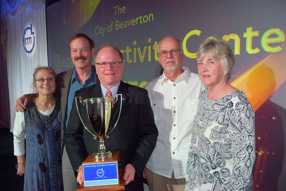 Photo courtesy of Michigan Municipal League Beaverton was honored with the Michigan Municipal League's 2016 Community Excellence Award on Sept. 16 during the League's Annual Convention on Mackinac Island.