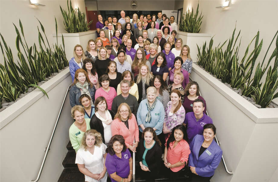 Founded in 1914, the Ridgefield Visiting Nurse Association employs a staff of almost 200.