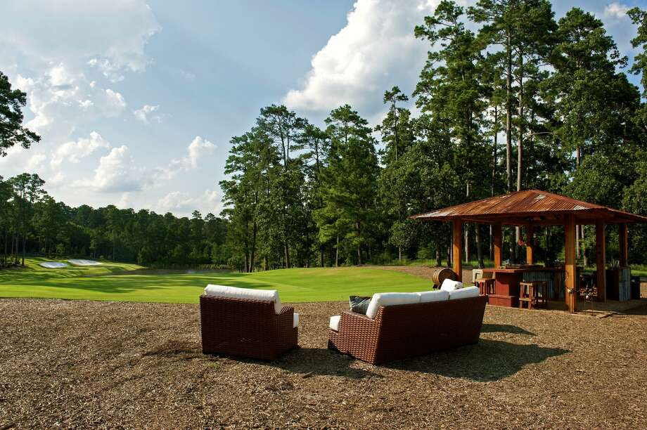 Only two voters will approve or deny a $257 million bond for the Blaketree Municipal Utility District No. 1, which covers the Bluejack National development surrounding a golf course by the same name. Most of the homes at Bluejack, designed in part by Tiger Woods, are still under construction.Keep clicking to see the amenities and new homes being constructed at the development.  Photo: Holly Paulson/Bluejack