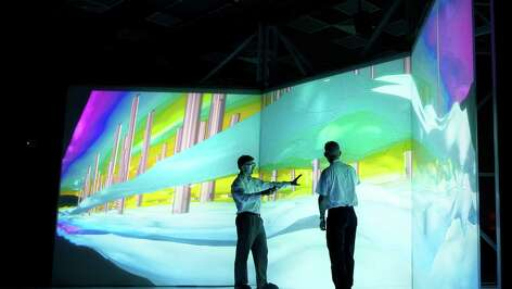 Aramco uses the latest technology such as 3D reservoir modeling to analyze high-definition, seismic data.