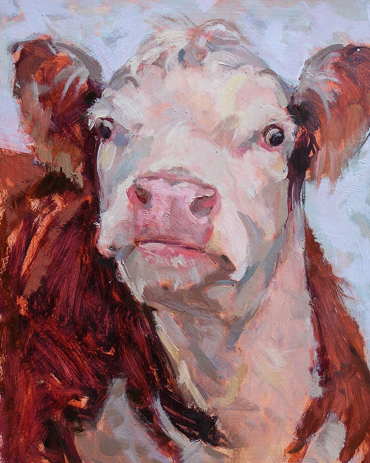 Wildlife artist Melody Asbury will be offering a four-week class on painting animals at the Flanders Nature Center & Land Trust in October. Photo: Contributed Image / Flanders Nature Center